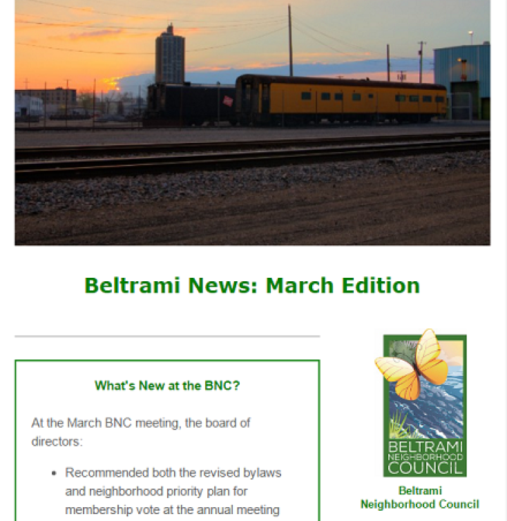 March News from Beltrami