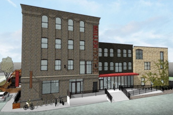 Curious about the Miller Textile building?