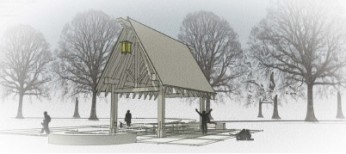 Timber Framed Picnic Pavilion coming to Beltrami Park