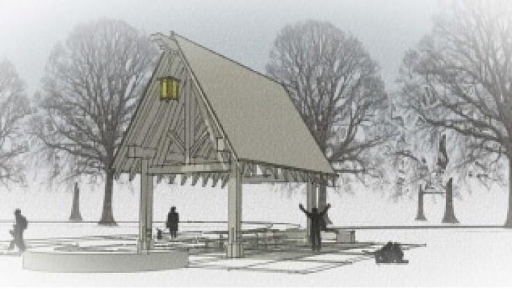 Timber Framed Picnic Pavilion coming to Beltrami Park