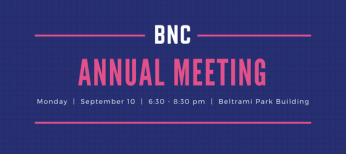 Coming Up: BNC Annual Meeting & Board Elections!