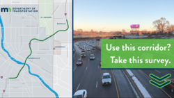 I-35W Survey by MnDOT