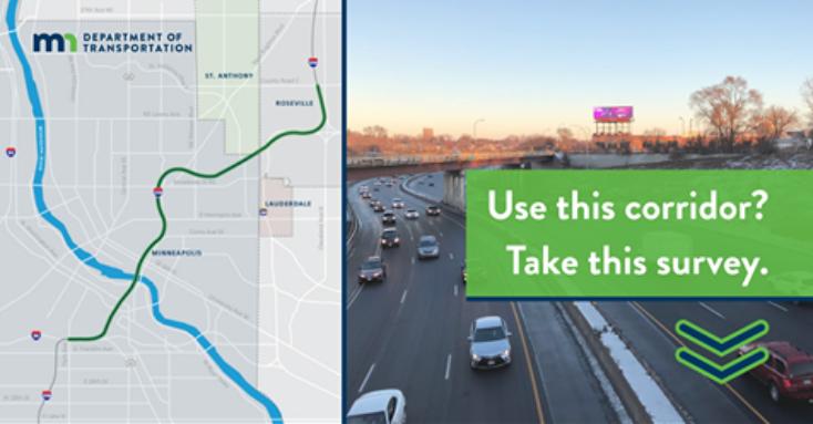 I-35W Survey by MnDOT
