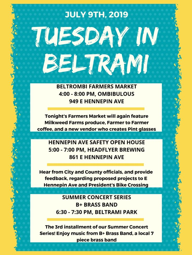 Tuesday in Beltrami – July 9th