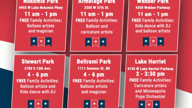 4th of July at Beltrami Park